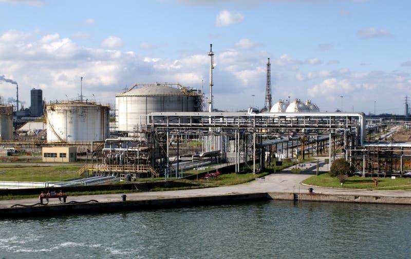usine chimique photo stock