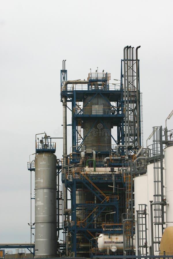Usine de pétrole brut images stock