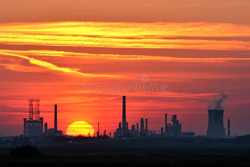 Usine de produit chimique et de pétrole