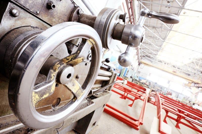 Usine de rotation de machines d'équipement photographie stock libre de droits