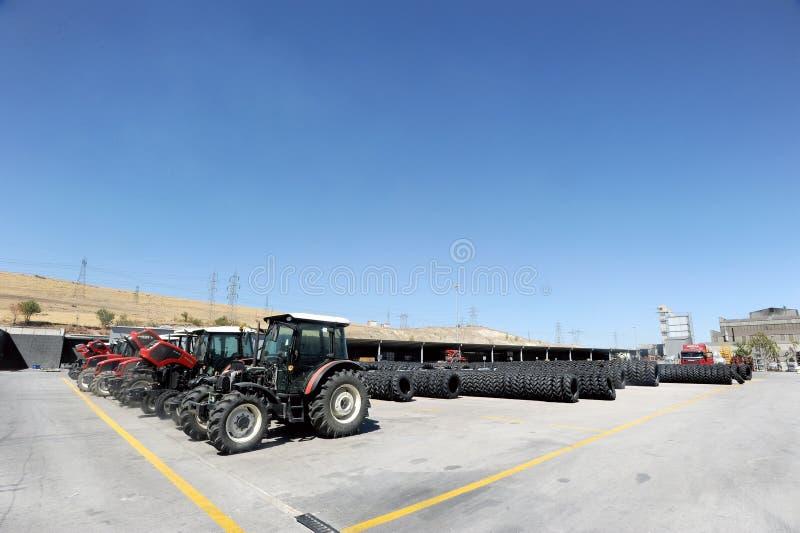 Usine de tracteur de la Turquie photos libres de droits
