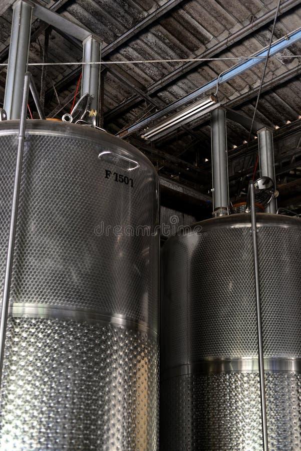 Usine moderne de vin photos libres de droits