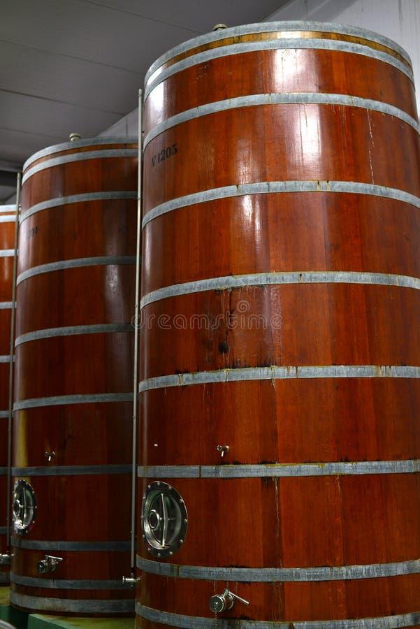 Usine moderne de vin image libre de droits
