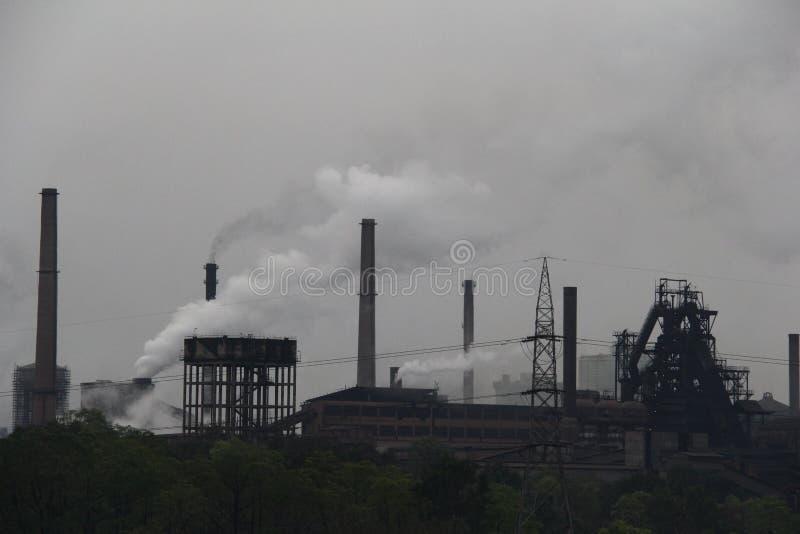 Usine sidérurgique de Rourkela photo libre de droits