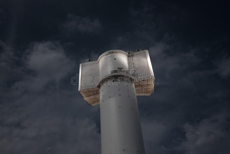 Usine solaire photo libre de droits