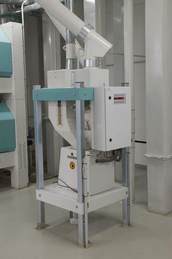 Usine sur la fabrication de farine image libre de droits