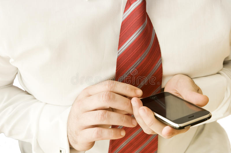 Download Using a cell phone. stock photo. Image of contact, business - 9784174