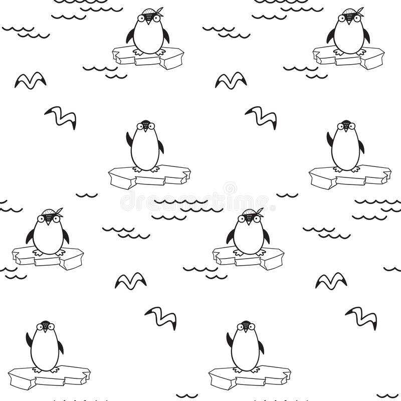 Pattern for kids, girls and boys. Vector illustration. It can be used to create prints, packaging, invitations, simple designs, gi royalty free stock image