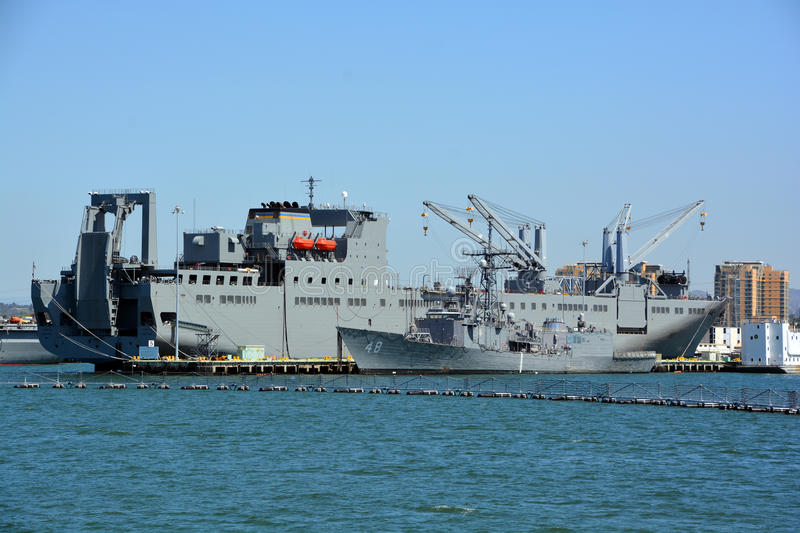USNS Bob Hope royalty free stock photography
