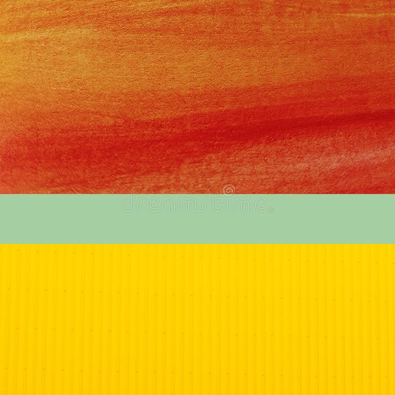 Uso colorido de la endecha del plano para el fondo libre illustration