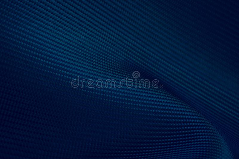 Uso compuesto de la materia prima de la fibra de carbono oscura azul para el deporte automotriz fotografía de archivo libre de regalías
