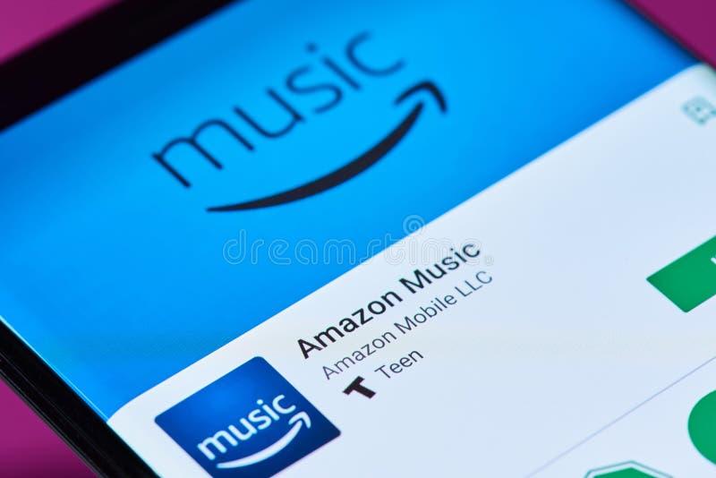 Uso de la música del Amazonas fotos de archivo libres de regalías