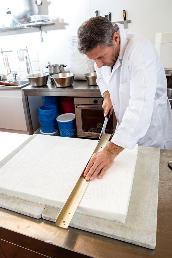 Uso Di Carta Di Riso Commestibile Dell\'artigiano In Laboratorio ...