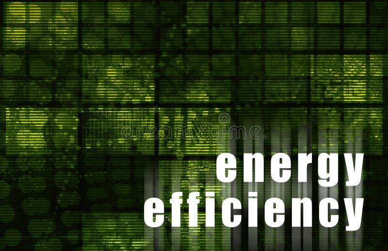 Uso eficaz da energia ilustração do vetor