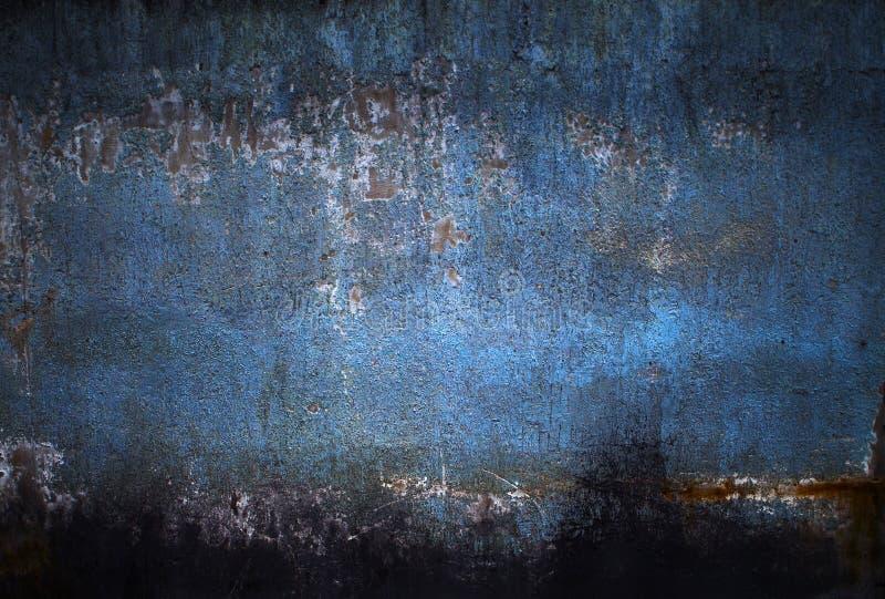 Fondo grungy sporco blu fotografia stock