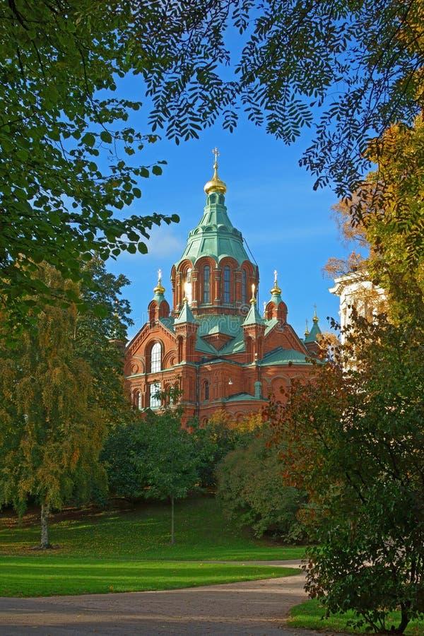 Uspenkikathedraal, Helsinki royalty-vrije stock afbeeldingen