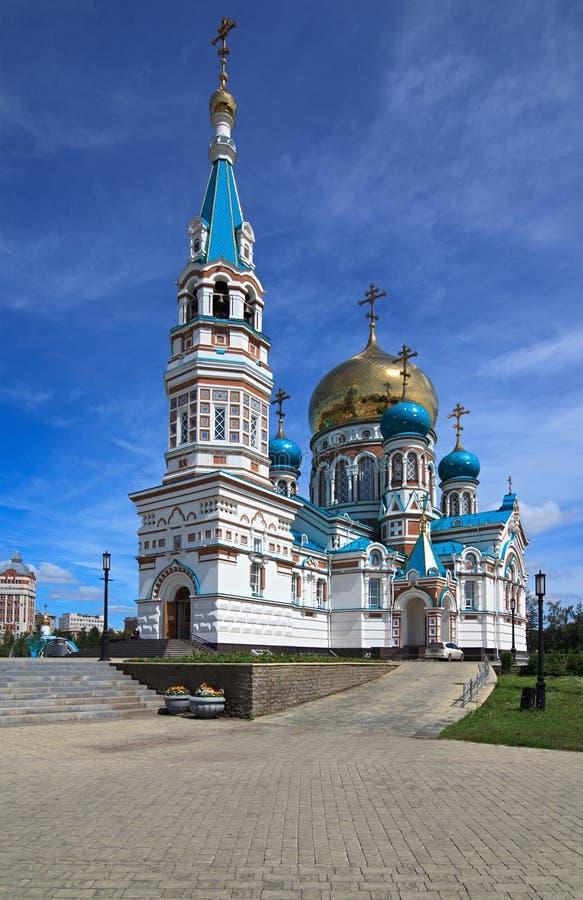 uspensky的大教堂 库存照片