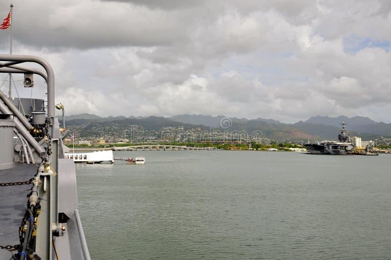 USS密苏里BB-63 库存图片