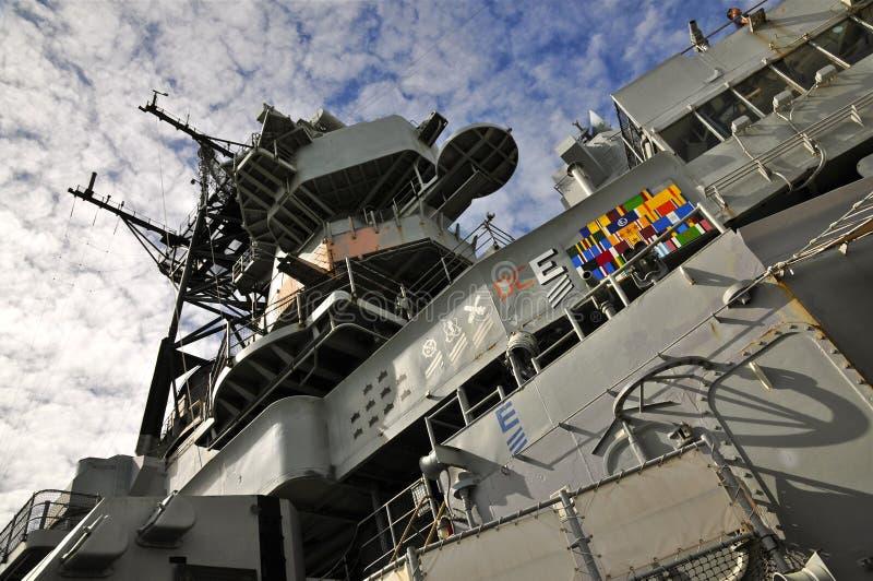 USS密苏里BB-63 库存照片