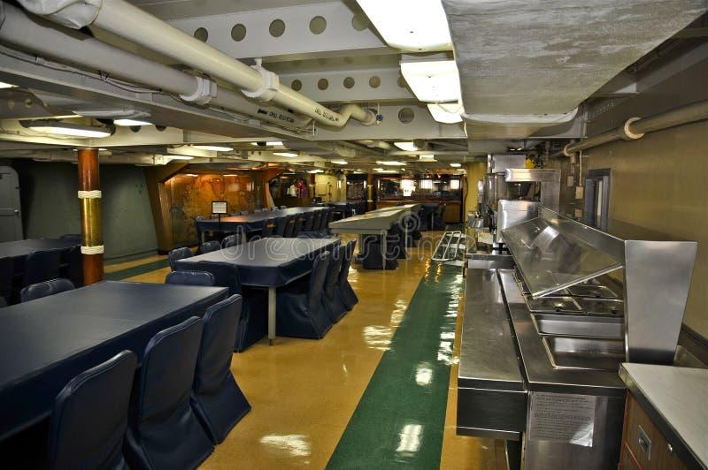 USS密苏里BB-63 图库摄影