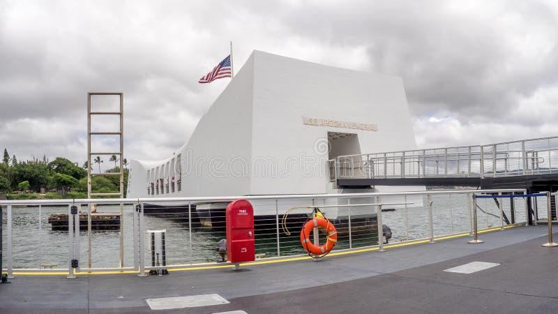uss мемориала Аризоны стоковые фото