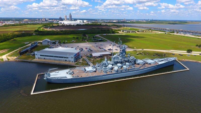 USS Alabama stockfoto