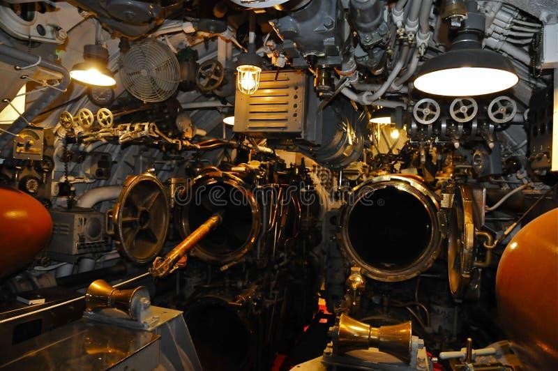 USS Bowfin Submarine SS-287. Torpedo Tubes of USS Bowfin, Pearl Harbor, Hawaii stock photos