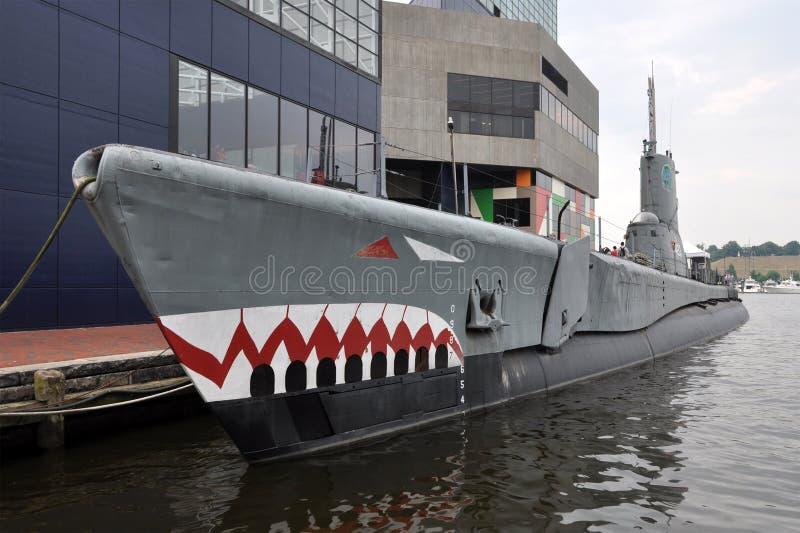 USS Brozma obraz royalty free