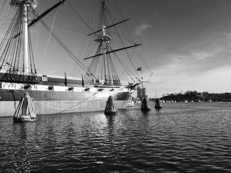 USS Constellation photographie stock libre de droits
