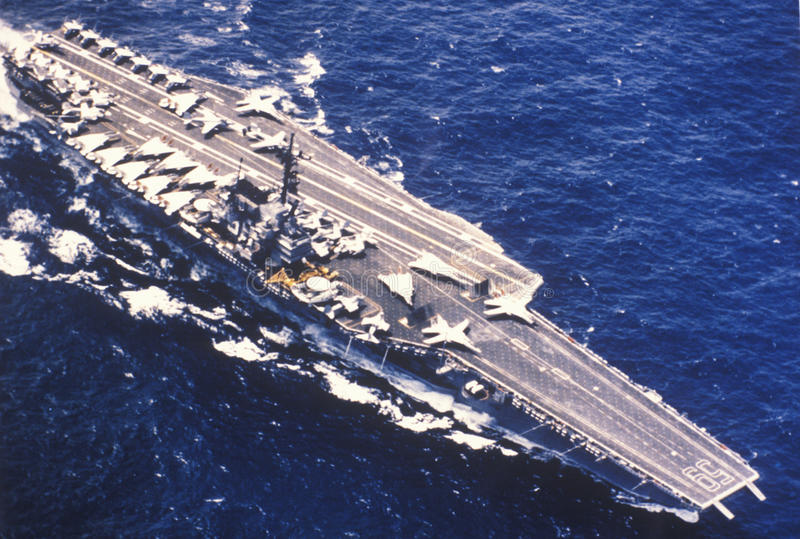 Download USS Forrestal Aircraft Carrier Editorial Image - Image: 26888905