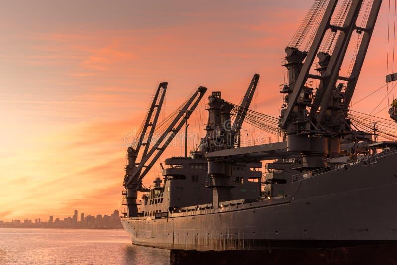 USS Hornet Museum Ship stock photos