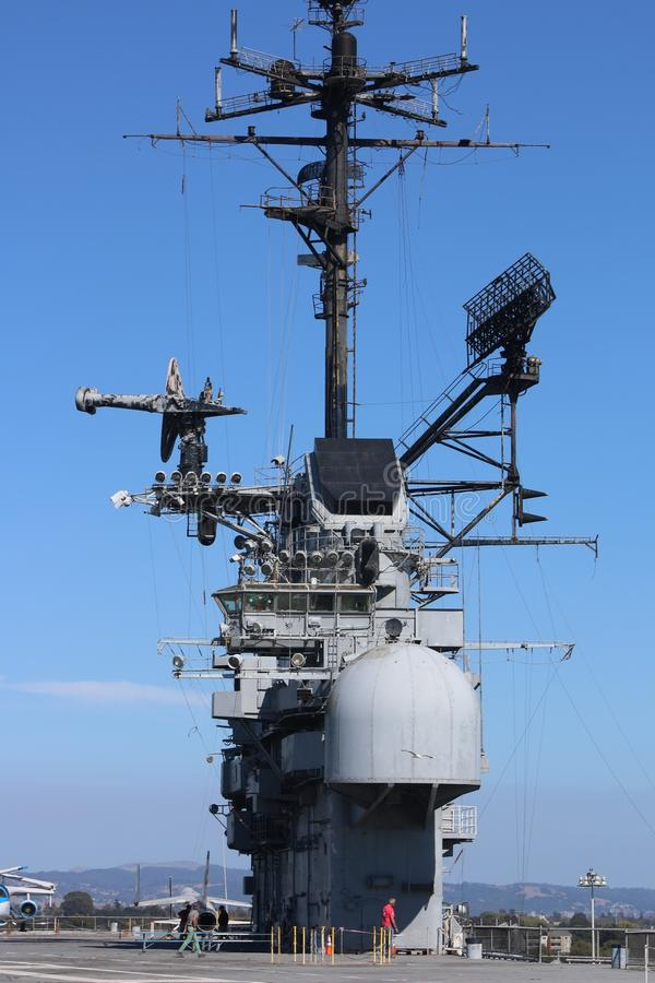 USS hornet royalty free stock photos