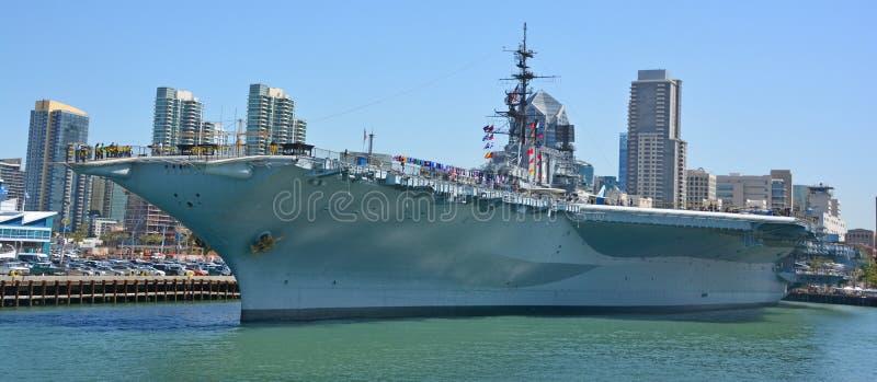 USS intermédiaire photo stock