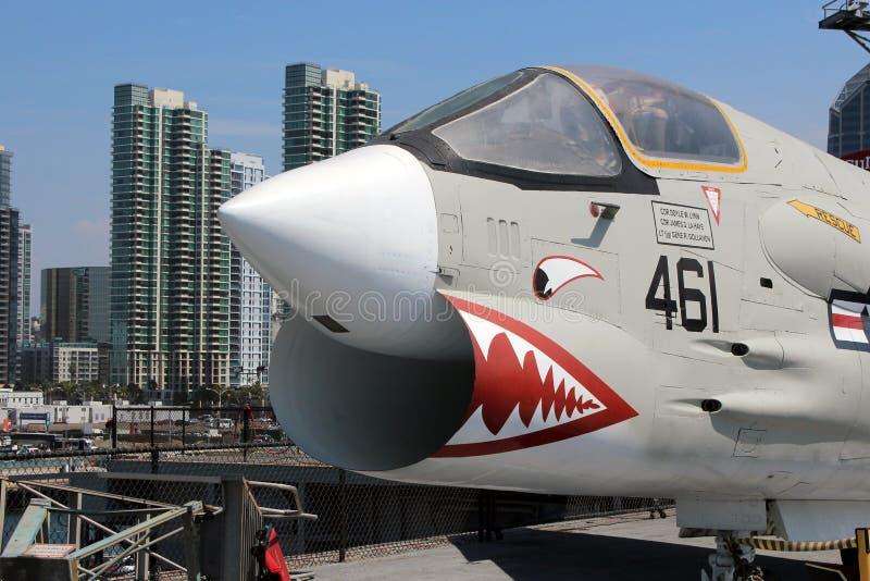 USS intermédiaire, San Diego images stock