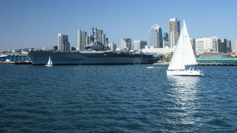 USS intermediário imagem de stock