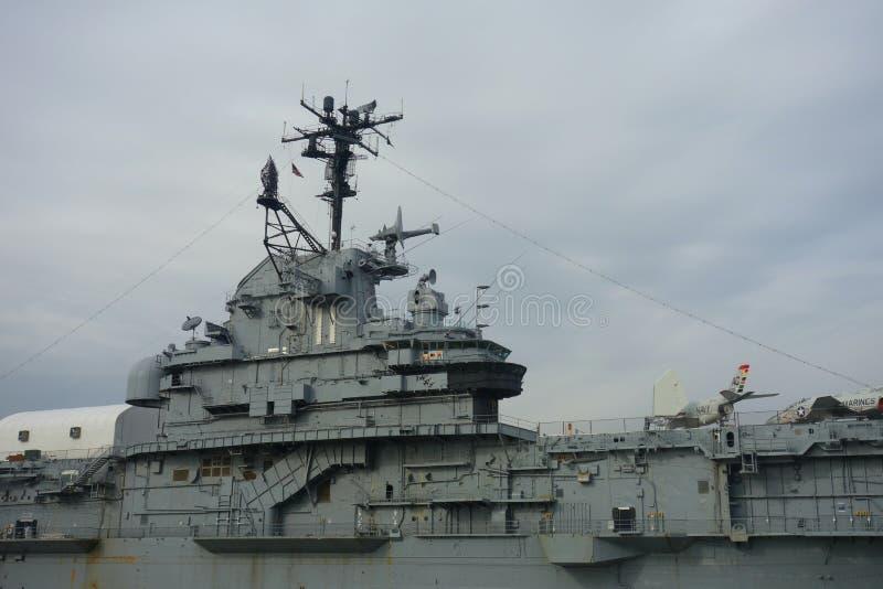 USS intrépido imagem de stock