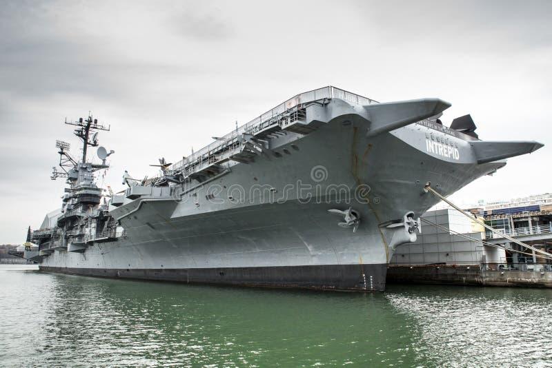 USS intrépido imagem de stock royalty free