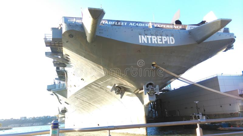 USS Intrepid Sea & Air Museum royalty free stock image