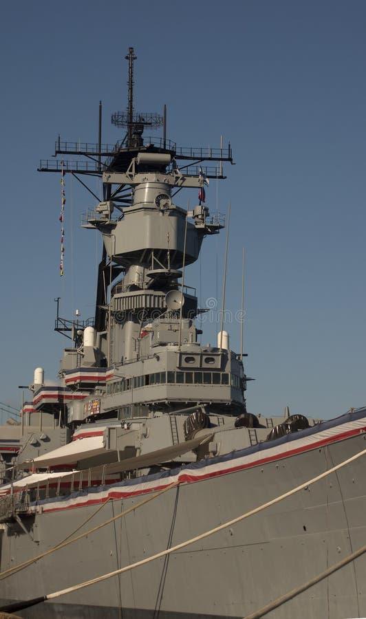 Free USS Iowa Warship Royalty Free Stock Image - 27100026