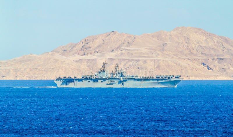 USS Iwo Jima (lhd-7) - κατηγορίας Wasp σκάφος επιθετικού αμφίβιου οχήματος στοκ φωτογραφίες