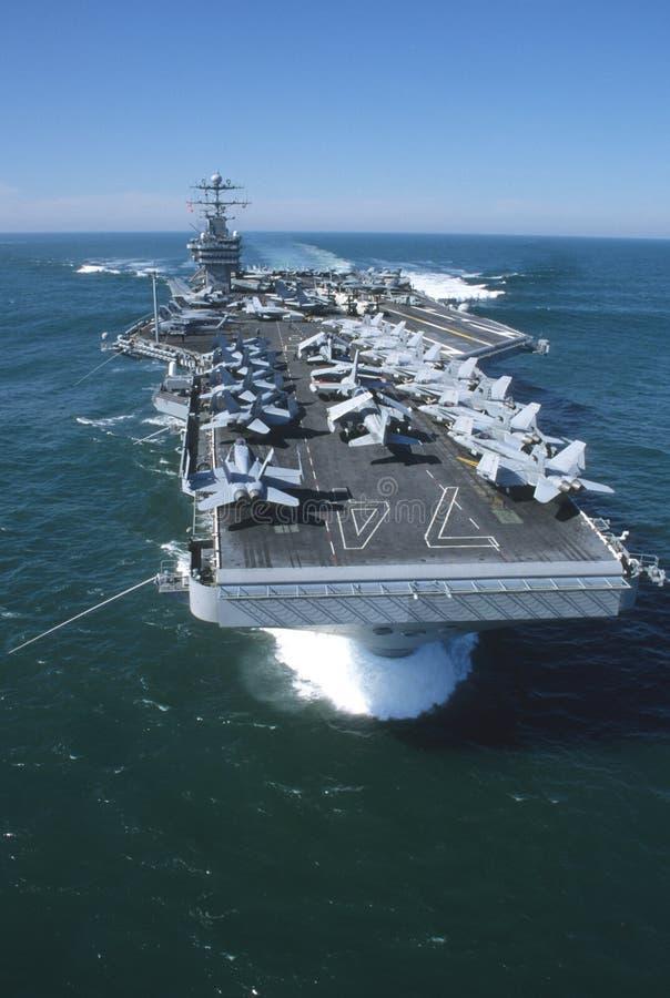 USS-John C Stennis royalty-vrije stock fotografie