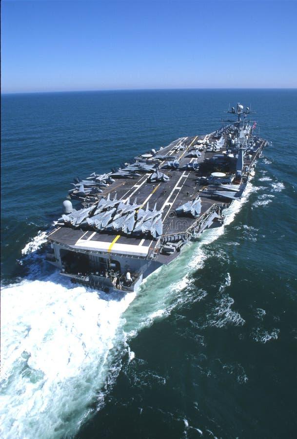 USS-John C Stennis (CVN-74) stock image