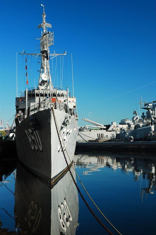 USS Joseph P Kennedy fotografia stock