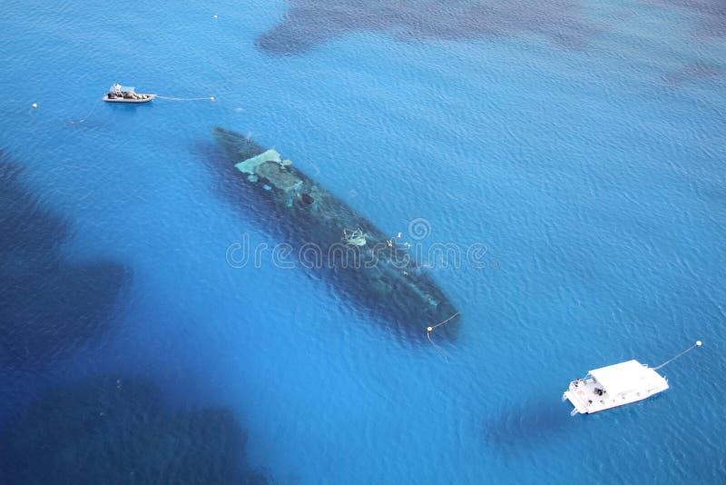 USS Kittiwake fotografia royalty free