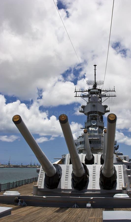 USS Missouri imagen de archivo