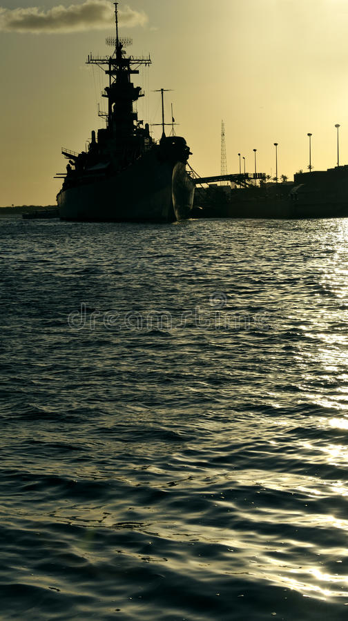 USS Missouri Royalty Free Stock Image