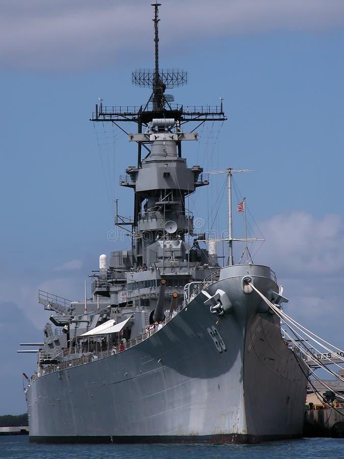 USS Missouri fotografía de archivo