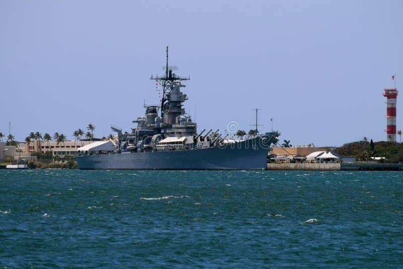 USS Missouri images libres de droits