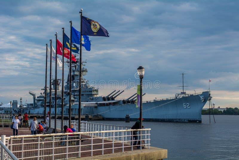 USS New-jersey imagens de stock royalty free