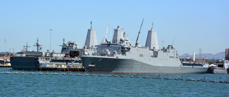 USS New Orleans стоковое изображение